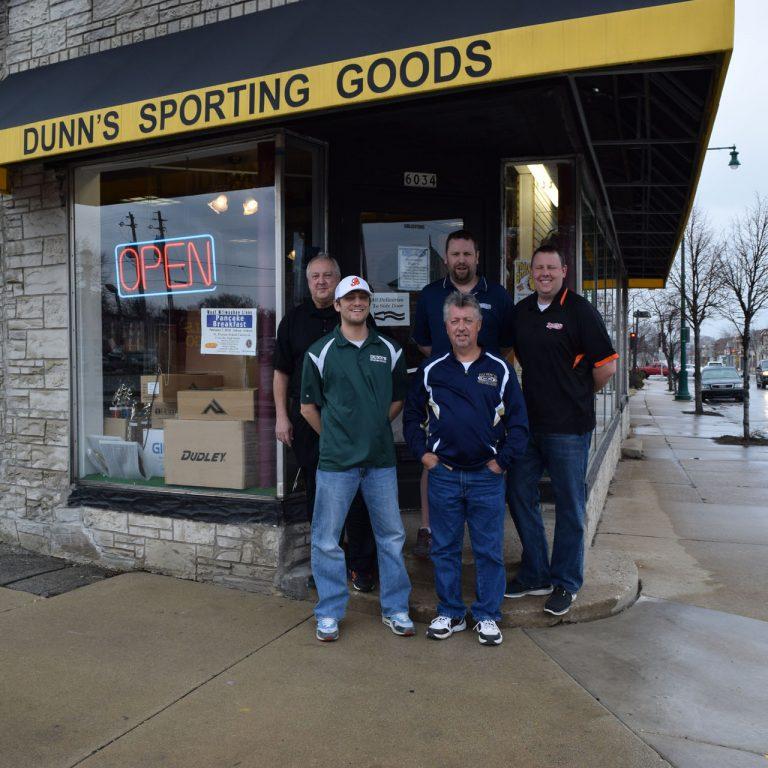 dunns sporting goods, west allis screen printing, sportswear west allis