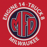milwaukee fire department engine 14, dunns sporting goods
