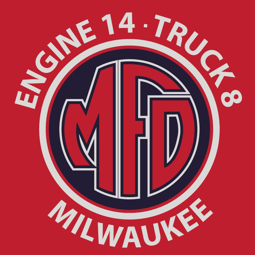 milwaukee fire department engine 14, dunns sporting goods